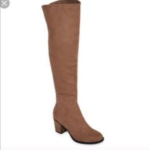 NWT Diba over the knee boots
